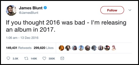 25 times james blunt well and truly won twitter music plus sport 25 times james blunt well and truly won