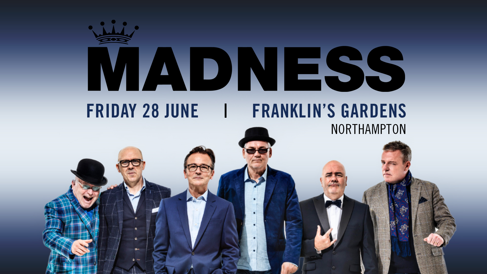 Frequently Asked Questions | Madness at Franklin's Gardens, Northampton on Friday 28th June 2019